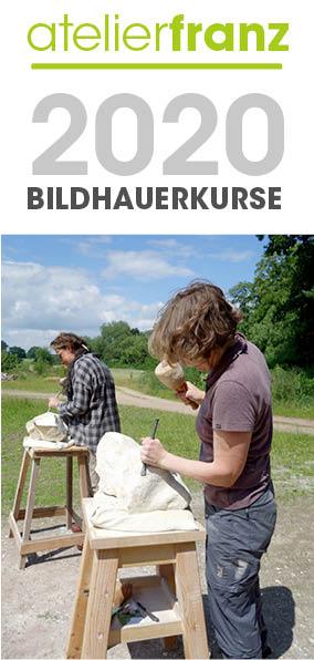 Flyer Bildhauerkurse